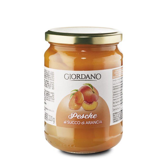 Giordano Wines Peaches in Orange Syrup
