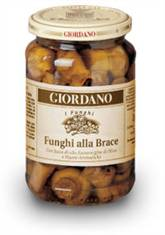 Giordano Wines Grilled mushrooms in extravirgin olive oils and spices