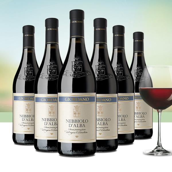 Giordano Wines Nebbiolo d'Alba d.o.c. 2014 Tradition