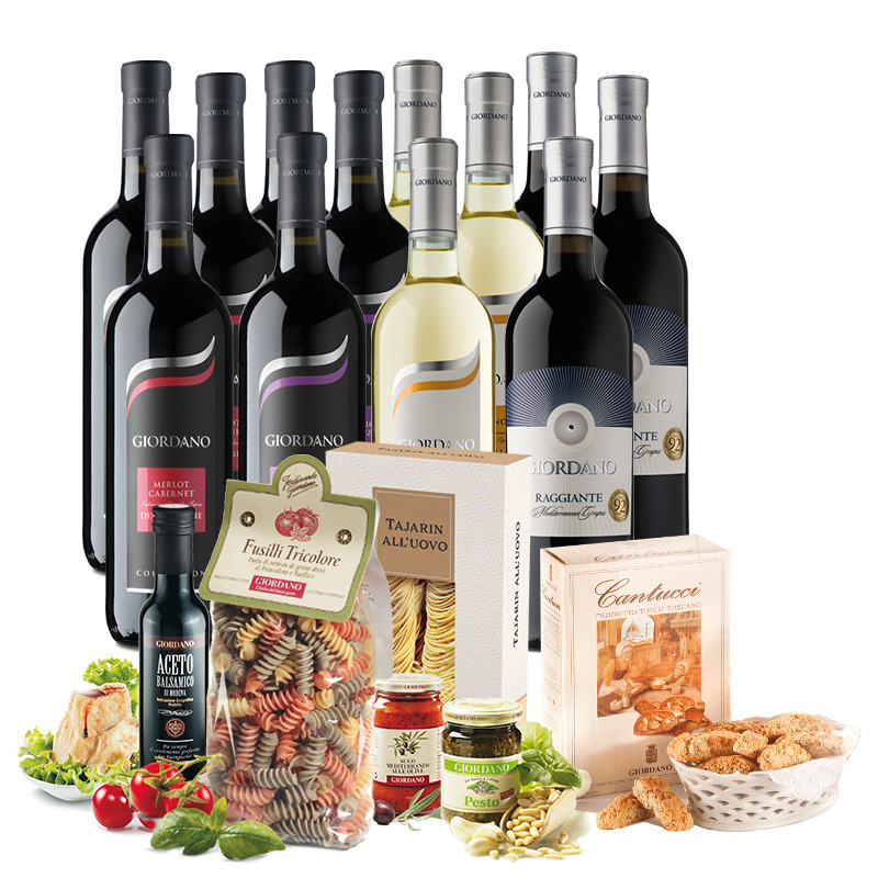 Giordano Wines The Wine and Food Selection