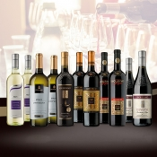 12 award-winning wines collection