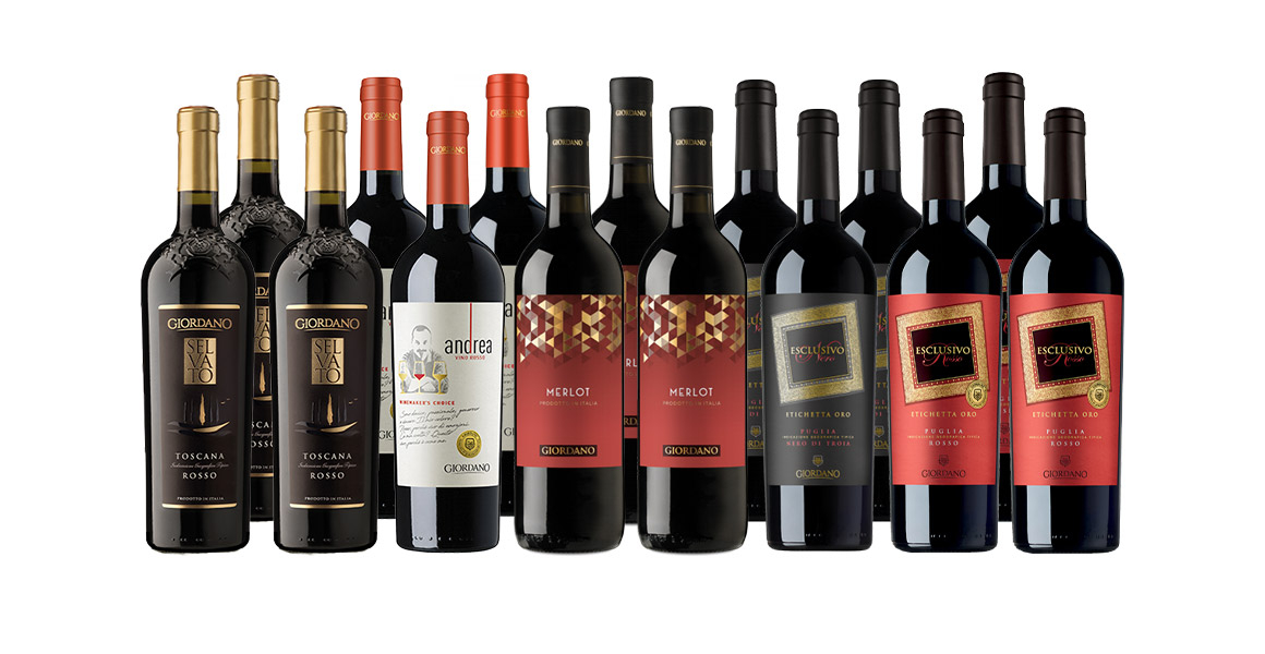 Giordano's Bestsellers - Amazing Reds