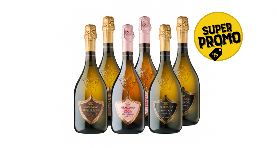 6 sparkling wines