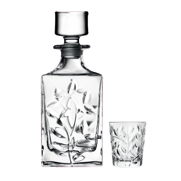 'LAURUS' LIQUEUR SET