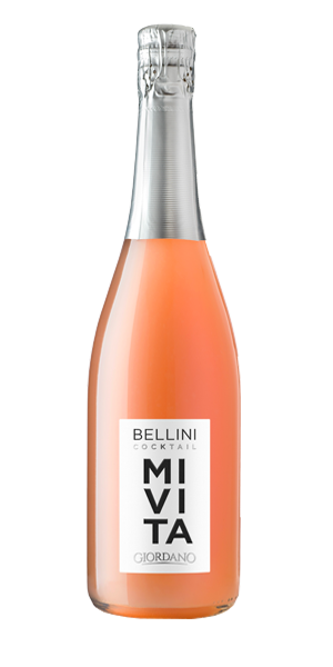 BELLINI WINE AND PEACH COCKTAIL