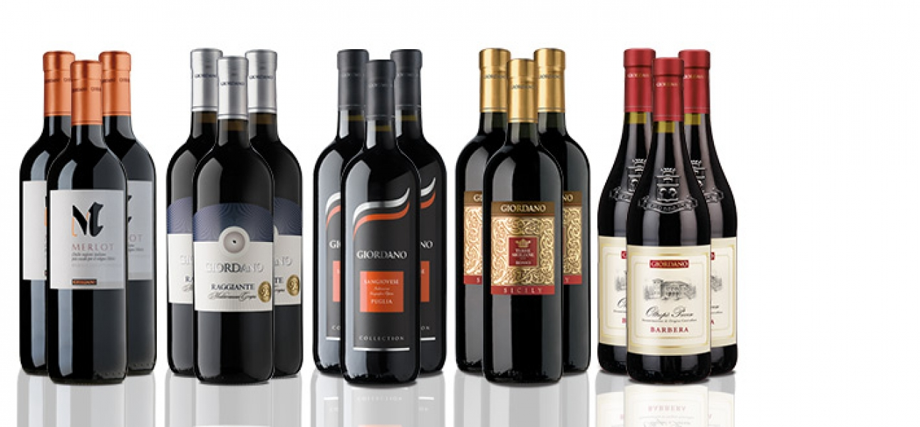 The Red Wine Selection