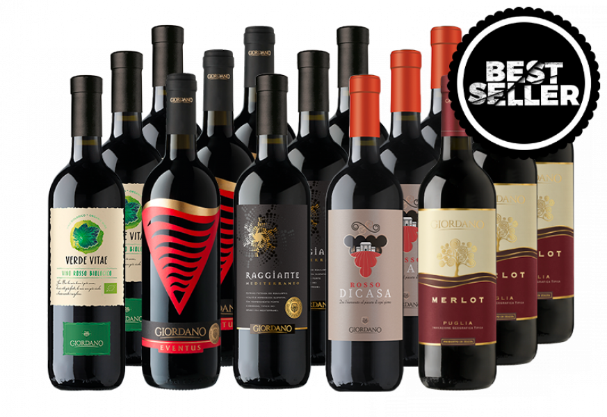 BLACK FRIDAY - 15 RED WINES